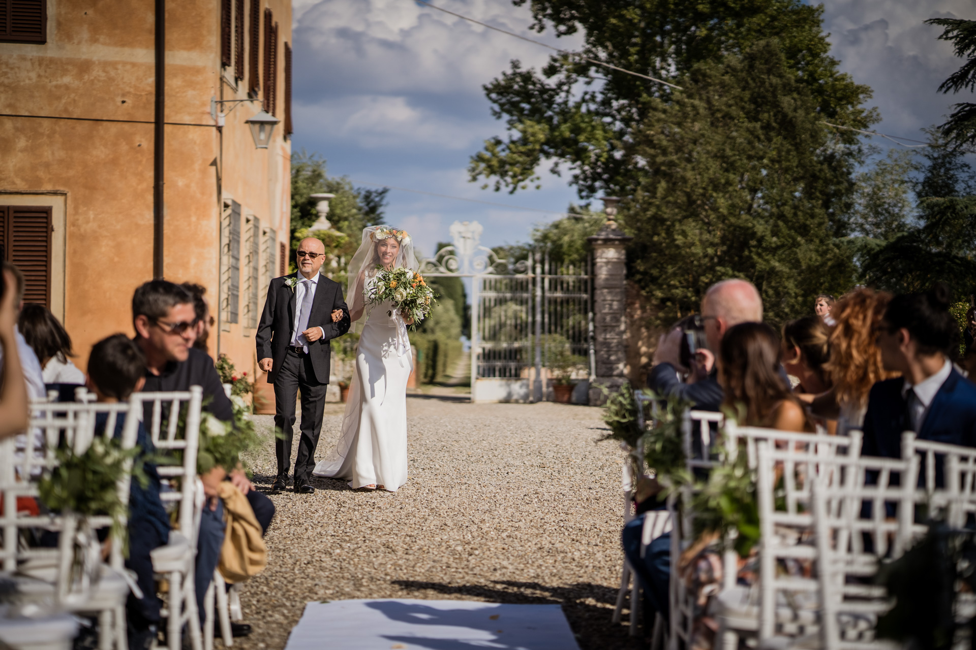 Wedding in Villa Catignano