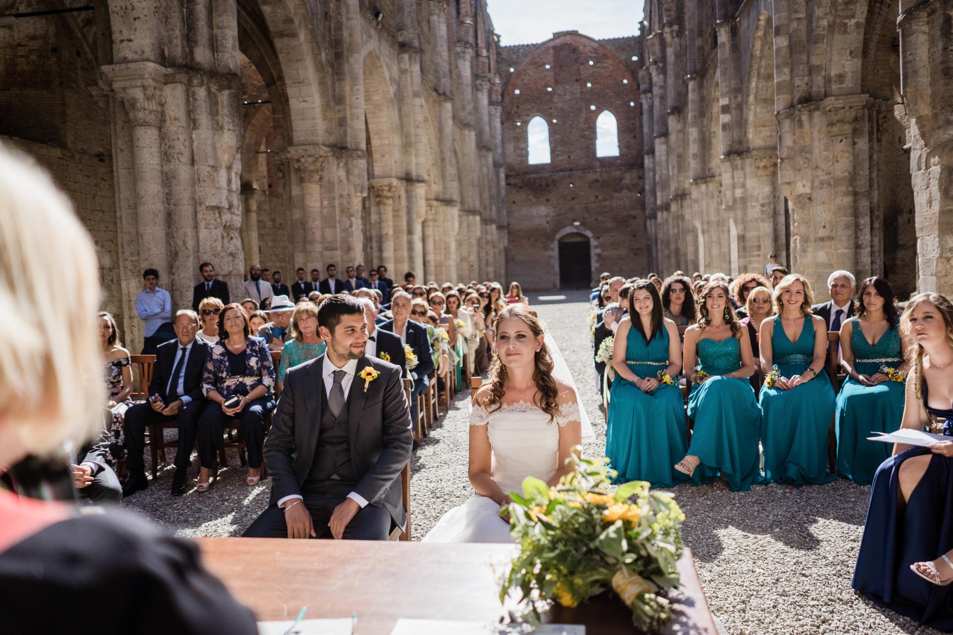 abbey san galgano wedding